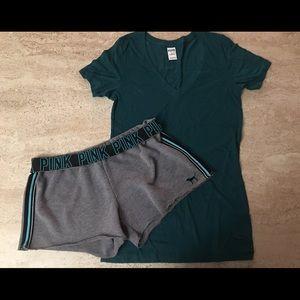 Victoria's Secret Shorts & Shirt🌸